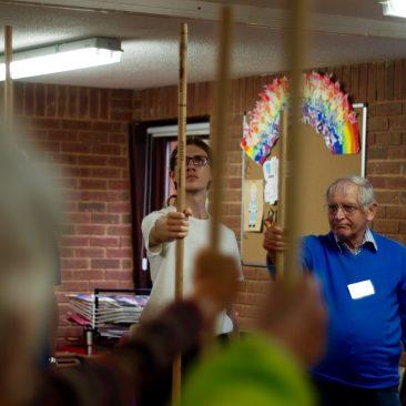 Steven Teaching a Staff workshop