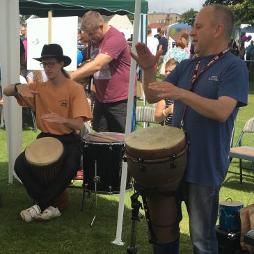 Drumming and Movement