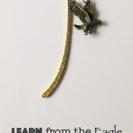 Learn From the Eagle: Bookmark