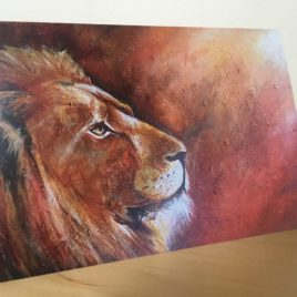 The Great Lion (Greeting Cards x3)