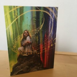 Mountain Top Worship Song (Greeting Cards x3)