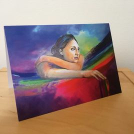 Dripping with Favour (Single Greeting Card)