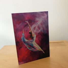 Dancing Through the Storm (Greeting Card x3)