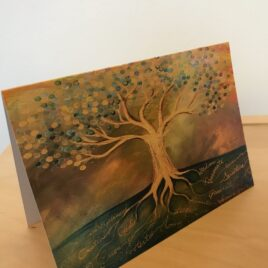Psalm 1 Tree (Greeting Cards x3)