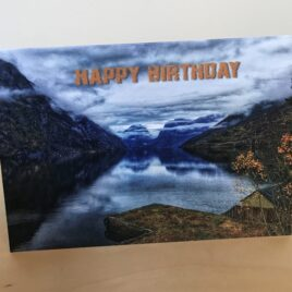Rock (Happy Birthday) (Single Greeting Card)
