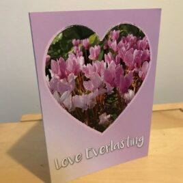 Flower of Love (Single Greeting Card)