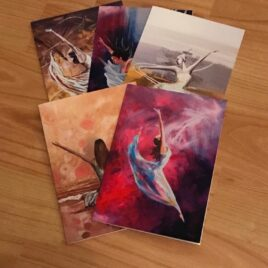 5 Dance Cards (Variety pack)